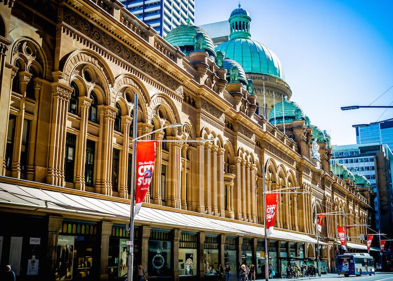 Queen Victoria Building, azaz Viktória Királynő Épület