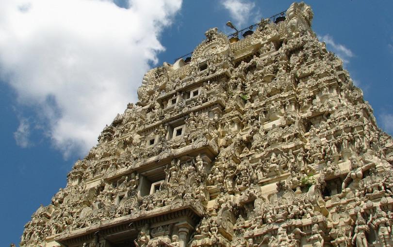 Káncsipurami templomok