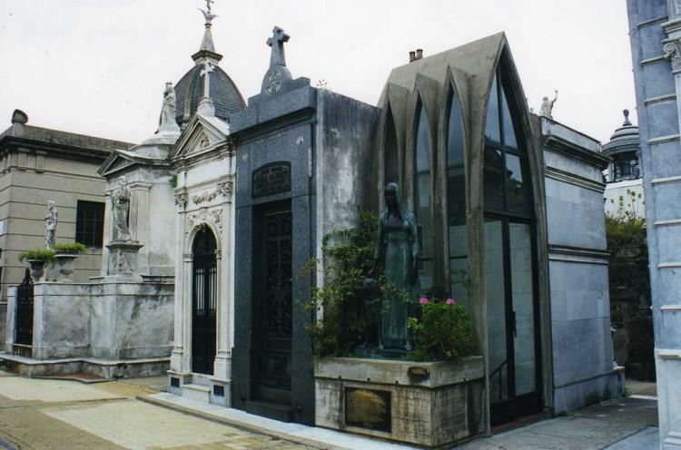 Recoleta temető