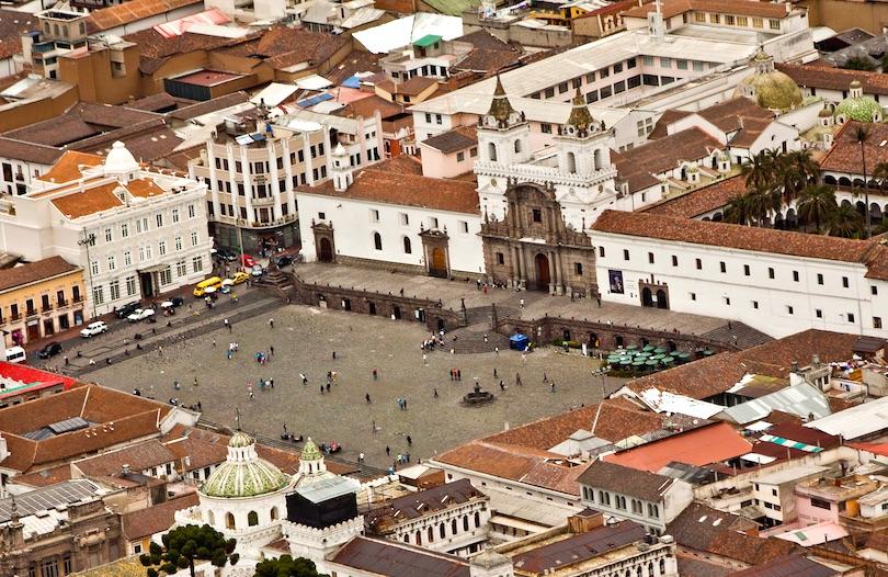 San Francisco templom, Quito