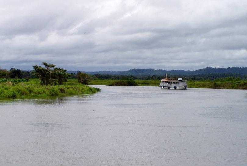 Hajózás a hírhedt Amazonason