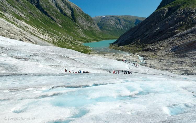 Jostedalsbreen gleccser