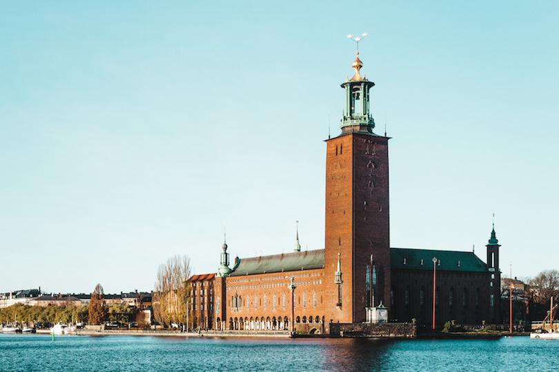 Stadshuset, vagyis a Stockholmi városháza