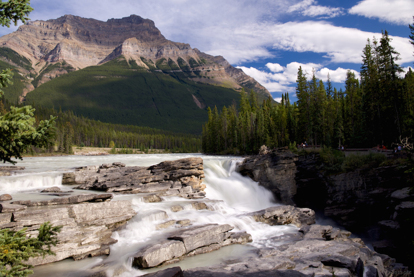 Athabasca-vízesés