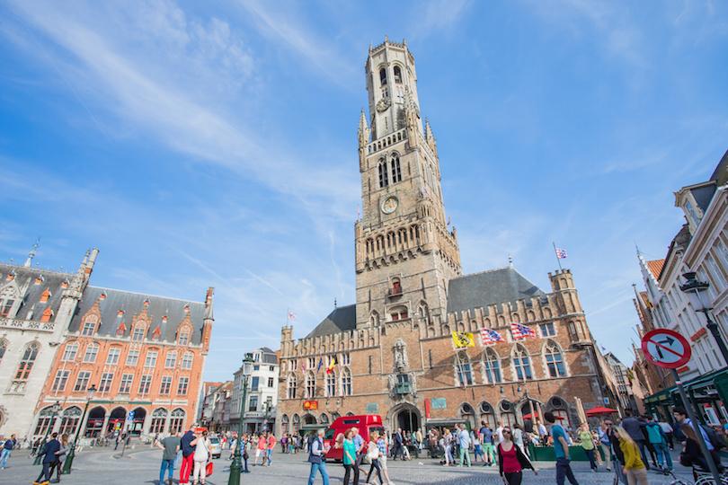 Brugge harangtornya