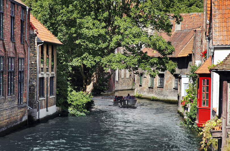 Brugge-i csatornák