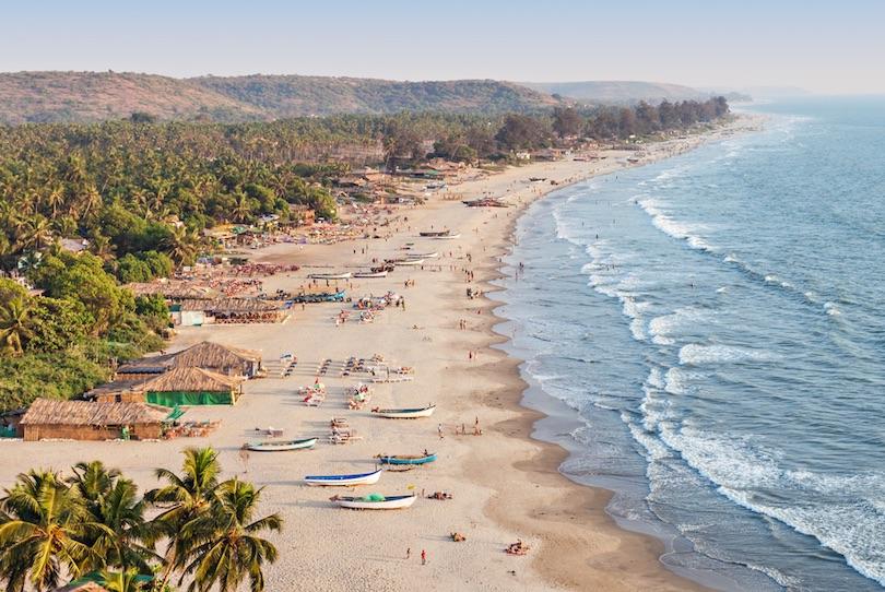 Goa strandjai