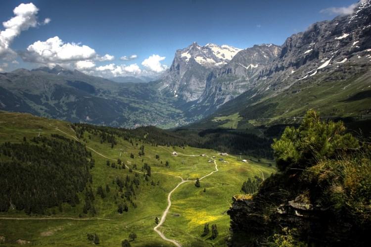 Jungfrau régió