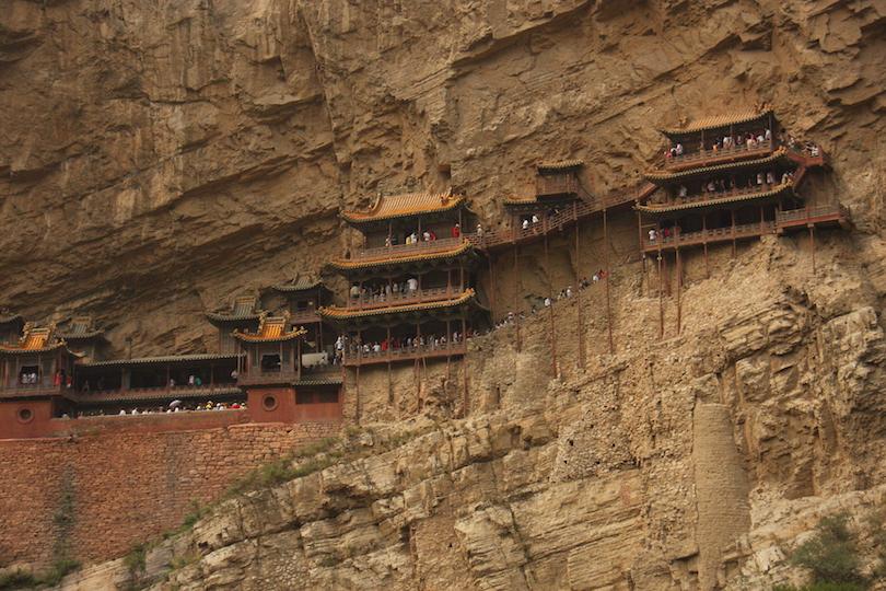 A kínai Függő kolostor (Huyan Khong Tu)
