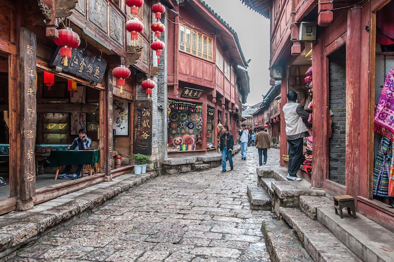 Lijiang óvárosa