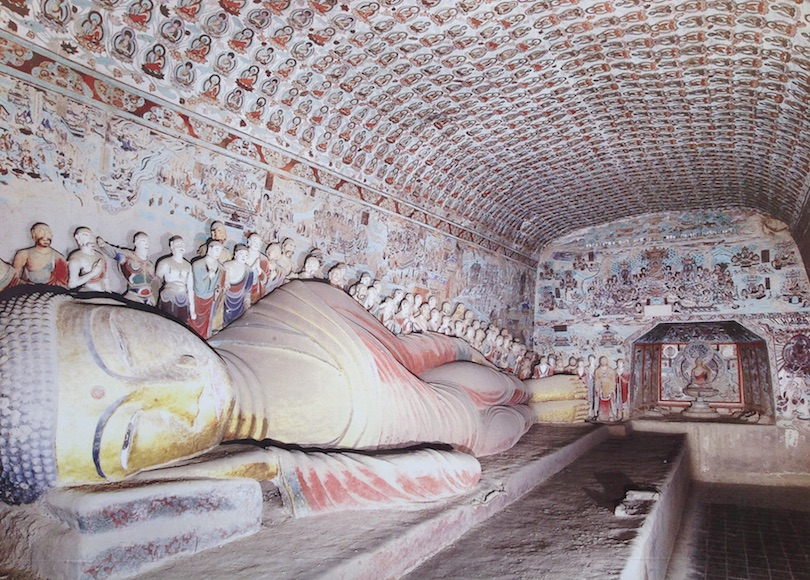 Mokao-barlangok, vagy más néven az Ezer buddha-barlangok