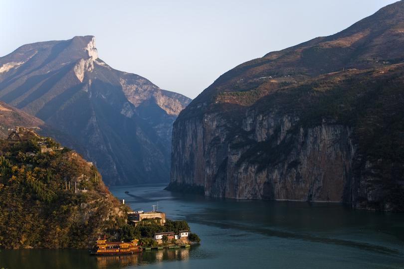 Hajókirándulás a Jangce-folyón