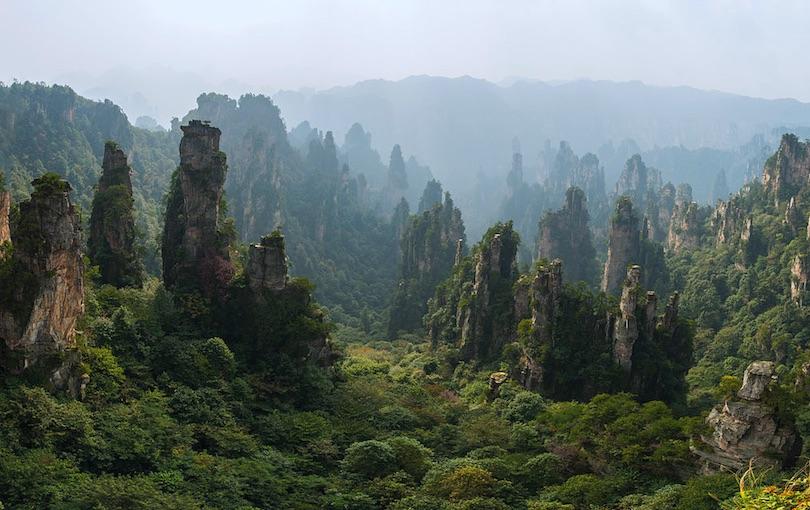 Zhangjiajie Nemzeti Erdő Park