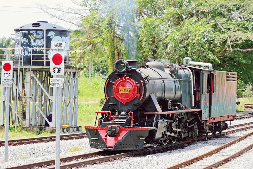 Észak-borneói vasút