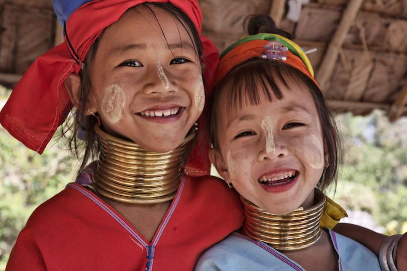 Hegyi törzsek Észak-Thaiföldön