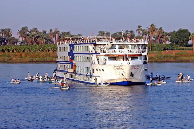 Hajókirándulás a Níluson