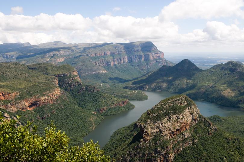 A Blyde folyó kanyonja