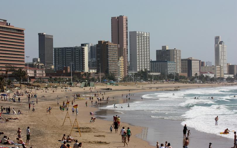 Durban strandjai