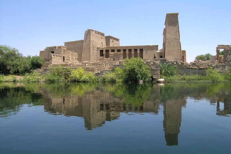 Philai templom