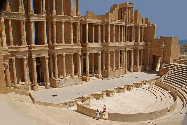 Sabratha - római színház