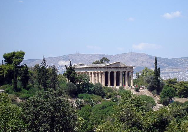 Hephaistos temploma