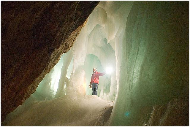 Eisriesenwelt barlang