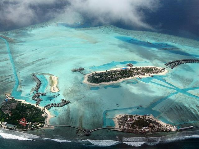 Maldív korallszigetei