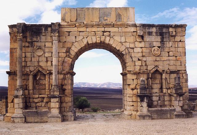 Volubilis - Caracalla diadalíve