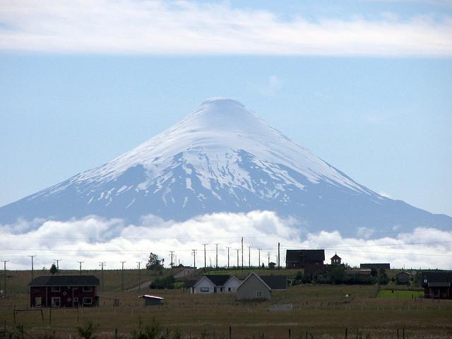 Osorno vulkán