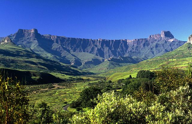 Amfiteátrum-hegy, Drakensberg