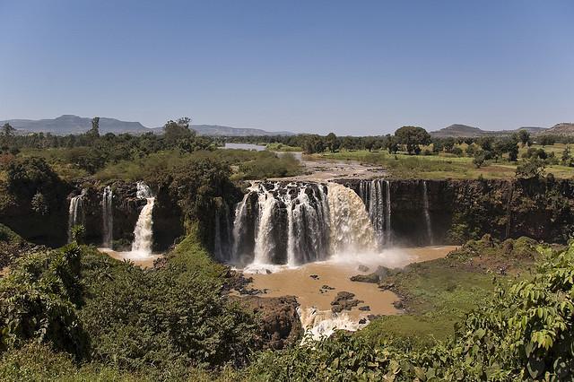 Kék-Nílus-vízesés