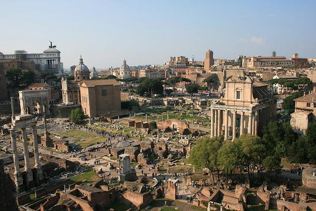 Római Fórum (Forum Romanum)