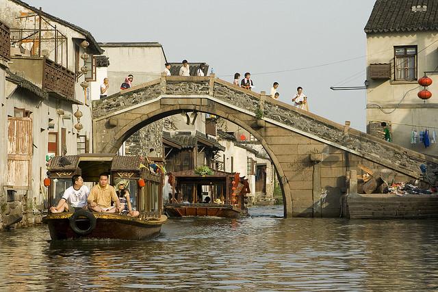 Suzhou csatornák