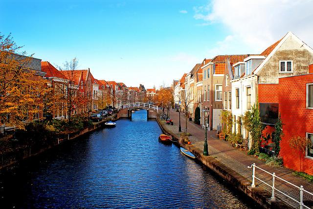 Leiden-csatornák