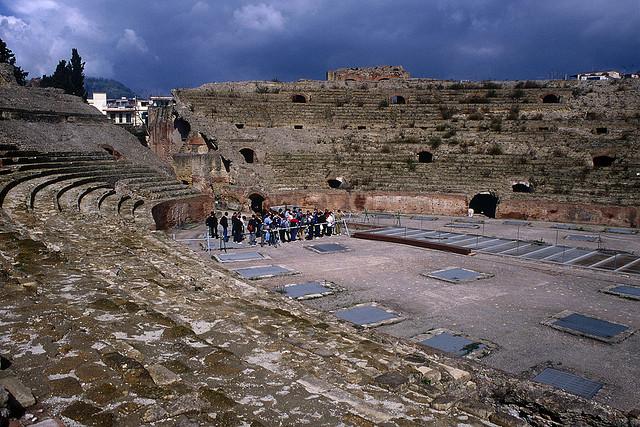 Pozzuoli amfiteátrum