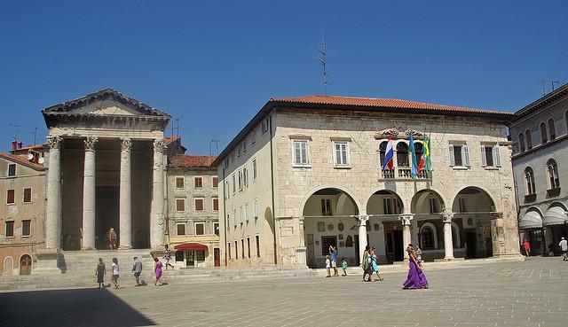 Pula - Augustus temploma