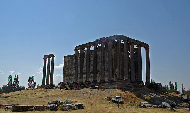 Aizanoi - Zeusz temploma