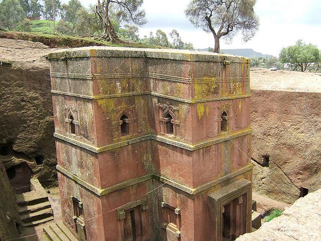 Lalibela templomok