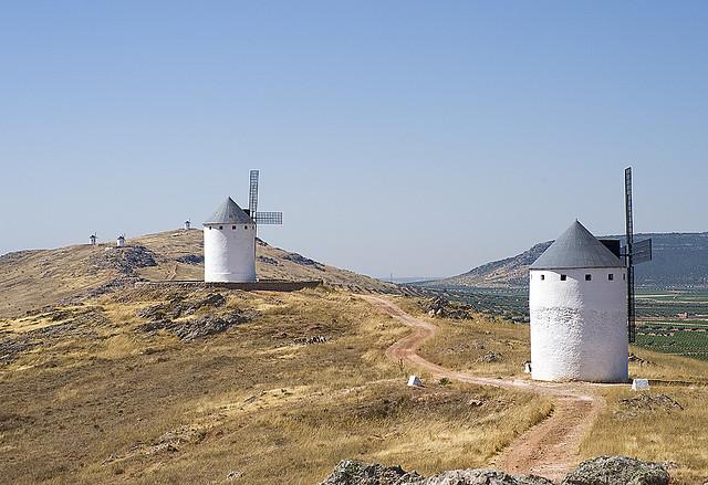 La Mancha szélmalmai