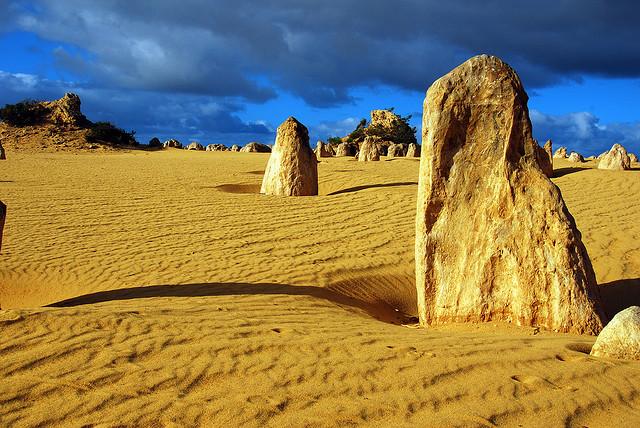 Pinnacles sivatag