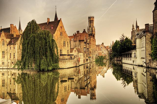Bruges csatornái