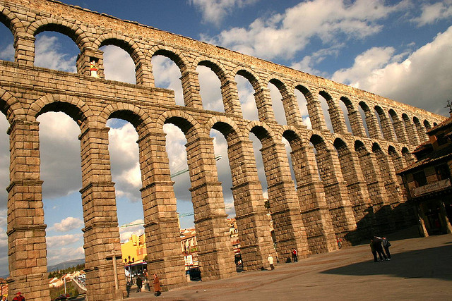 Római vízvezeték Segovia