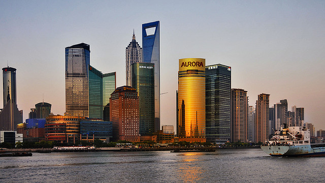 Pénzügyi Világ Központ - Shanghai