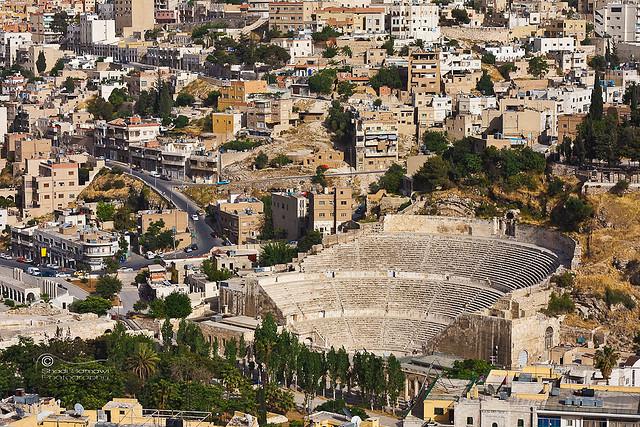 Amman római színház