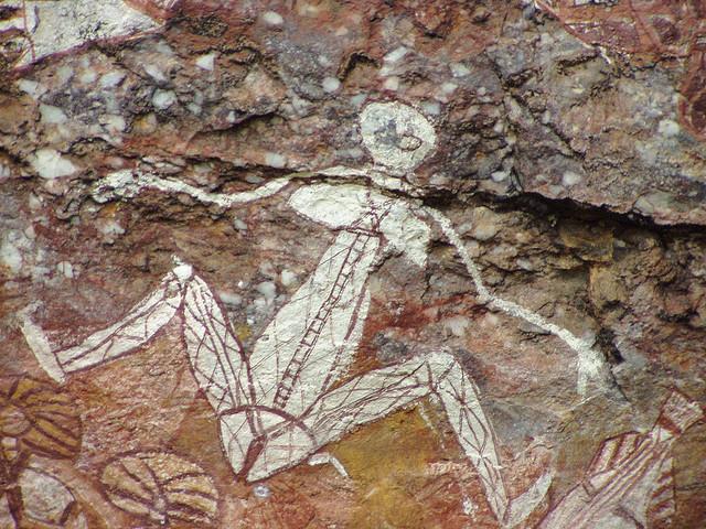 Kakadu sziklafestmények