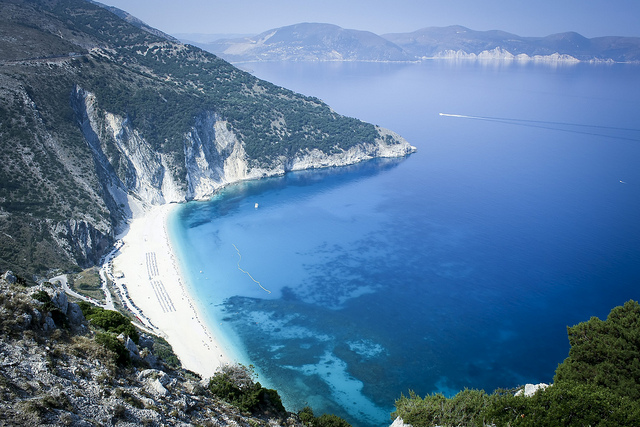 Myrtos strand