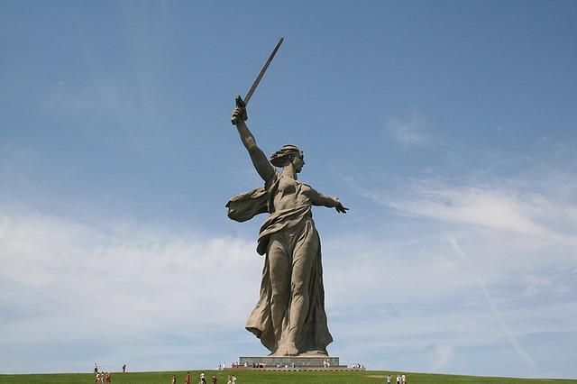 Oroszország Anya szobor