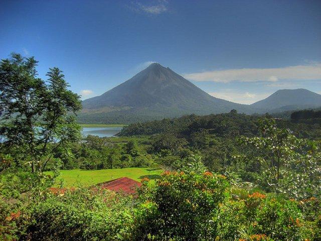 Arenal vulkán