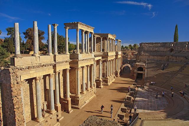 Merida római színház