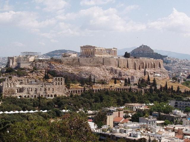 Parthenón, Akropolisz